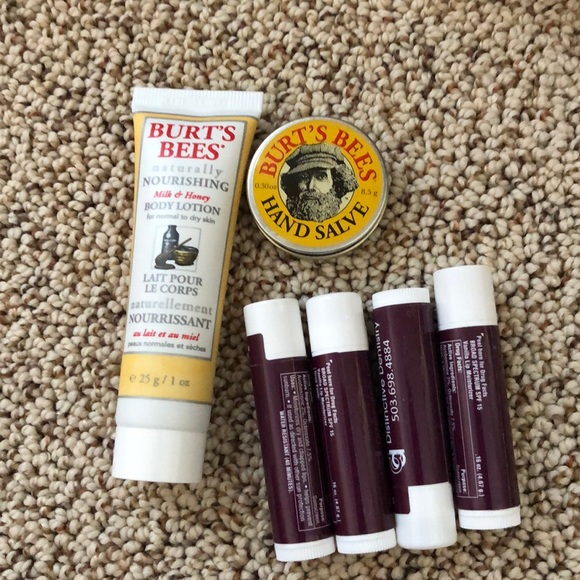 Burt's Bees Other - Lotion, hand cream, chapstick